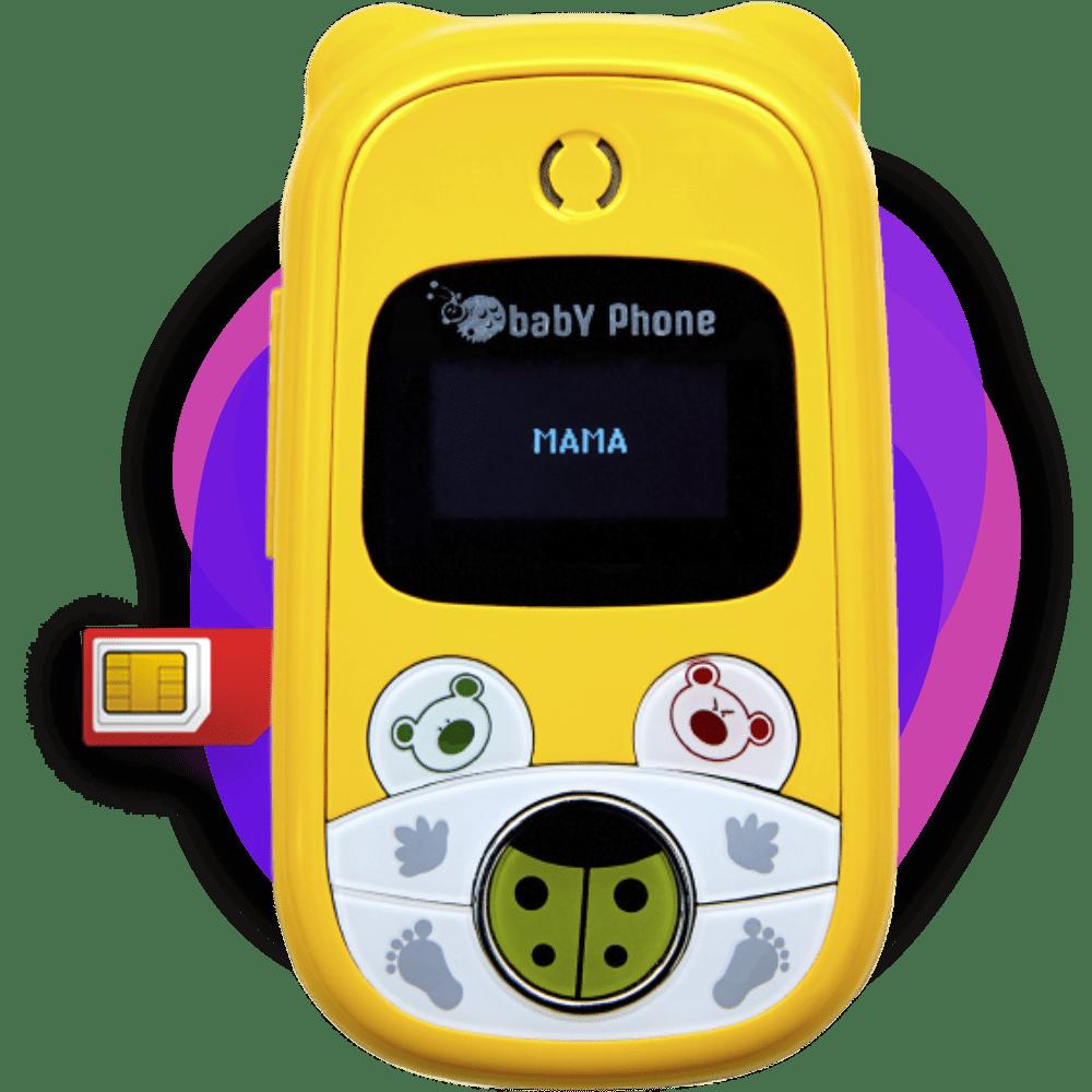 Детский мобильный телефон Baby Phone в Воронеже